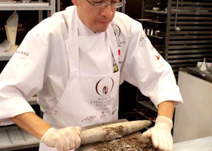 World Chocolate Master Chef Oscar Ortega in Jackson Hole Wyoming.
