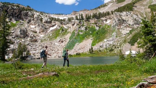 Hiking in Grand Teton National Park and Jackson Hole.