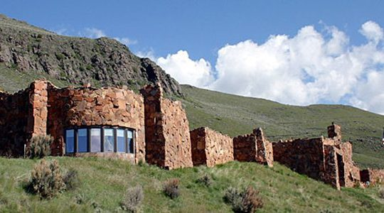 The National Musuem Of Wildlife Art Is Nestled Into A Hillside Overlooking The National Elk Refuge