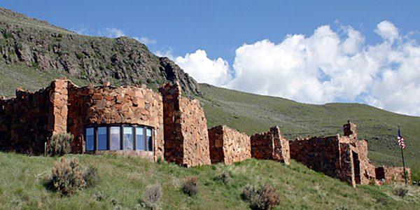 The National Musuem Of Wildlife Art Is Nestled Into A Hillside Overlooking The National Elk Refuge