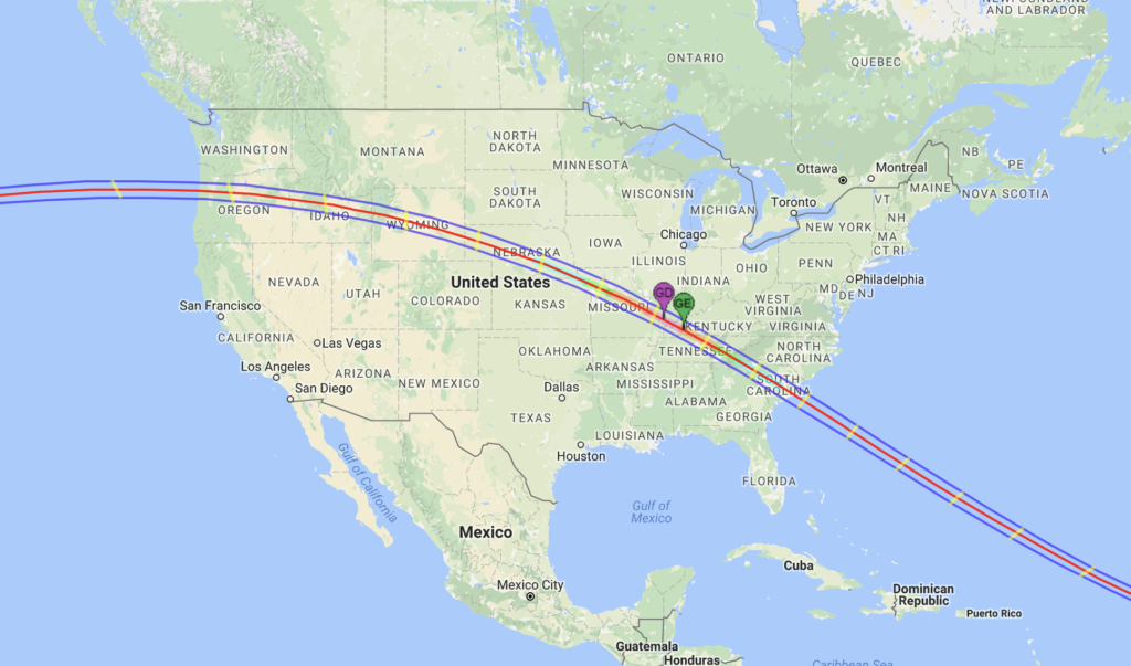 American Solar Eclipse Of Are You Ready Jackson Hole - Jackson hole us map
