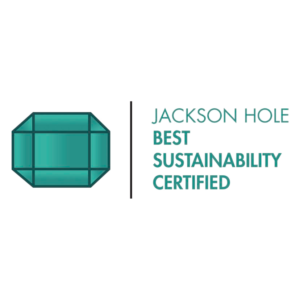 Jackson Hole Best Sustainability Certified logo