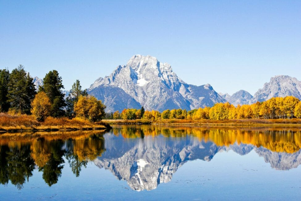 Oxbow Bend of the Snake River in Grand Teton National Park