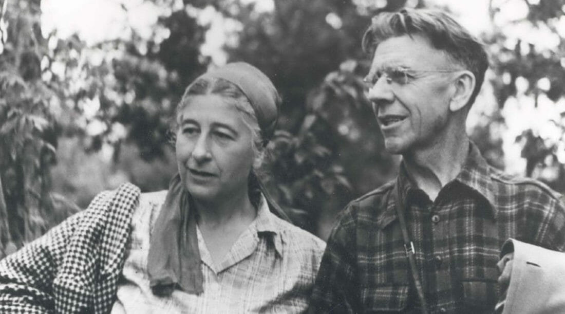 Mardy And Olaus Murie Photographed Together