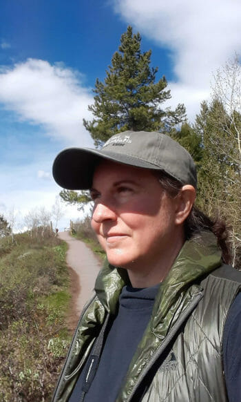 Rae Rediske Is A Professional Naturalist Guide for Jackson Hole Wildlife Safaris Based In Jackson Hole Wyoming